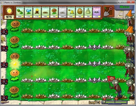 Plants versus zombies. tanaman melawan zombie. di sini akan dibahas